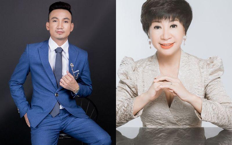 Đạo diễn Mr Snake tư vấn thương hiệu cho bà Trương Huyền Diệu - Tổng Giám đốc của tập đoàn TYMY Spa & Beauty Salon