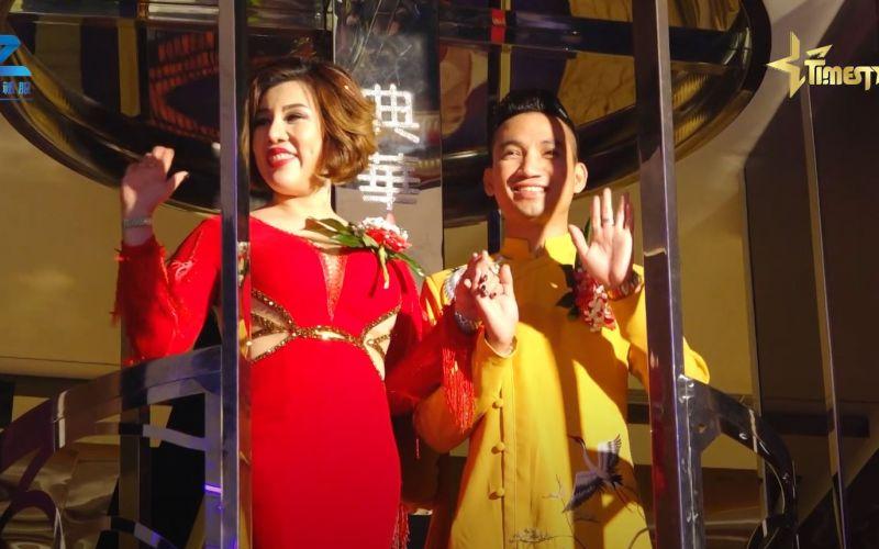 Đạo diễn Mr Snake và Hoa hậu quốc tế Châu Mai Thảo